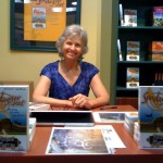 Margaret Murray at California Authors booth